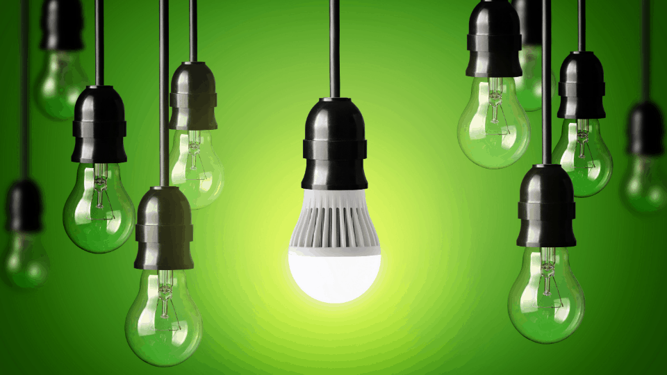 cambiar bombillas clasicas a LED